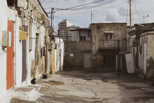 Old City With Soviet Streets A...