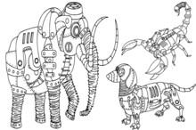 Concept Art Of  Robot Animals ...