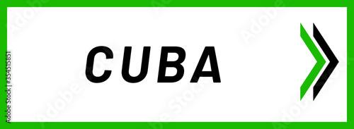 web Label Sticker Cuba Wallpaper Mural