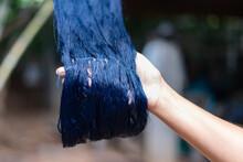 Art, Hand, Background, Blue, C...