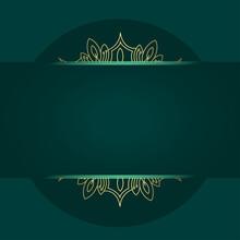 Luxury Ornamental Mandala Back...