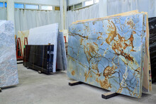 Colorful Marble Slabs In Store...