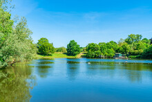 A Bathing Pond In Hampstead He...