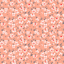 Cute Floral Pattern In The Sma...
