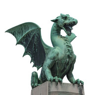 Dragon Statue From The 1800s I...
