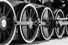 Wheels Of Vintage Steam Locomo...