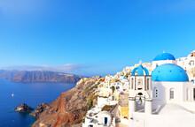 Greece. Santorini Island. Dese...