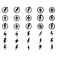 Lightning, Electric Power Vect...