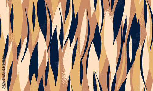 Fototapeta Modern seamless pattern. Minimalist collage pattern. Fashionable template for design. obraz