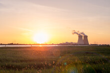 Sunset Over The Nuclear Reacto...