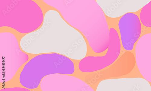 Cuadros en Lienzo Modern artistic illustration pattern