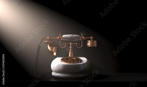 Photo Art Deco Telephone