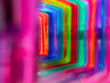 abstract background with colorful stripes