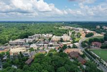 Aerial View Of Clemson South Carolina