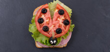 Children's Sandwich In The For...