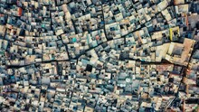 A Shocking Aerial Photo Of Cluster Housing In Agra