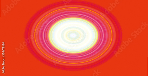 Obraz abstract background with circles - fototapety do salonu