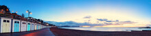 Panorama Of The Lyme Regis Bea...