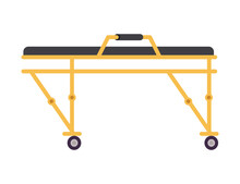 Isolated Stretcher Icon Vector...