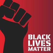 Black Lives Matter Concept. Te...