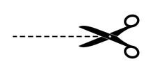 Scissors. Simple Vector Illust...