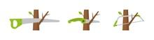 Tree Pruning Hand Tools. Garde...