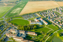 Aerial View Of Magny Le Hongre...