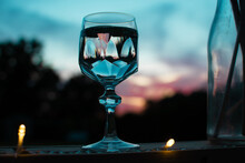 Gin Tonik Im Porzellanglas