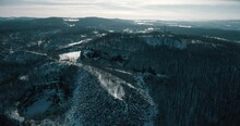 Rock Of Ages, Montpelier, Vermont, Aerial Drone