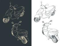 Moped Blueprints