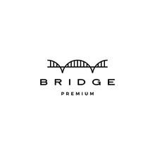 Bridge Logo Vector Icon Illust...