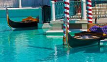 Gondolas Docked On Replica Gra...