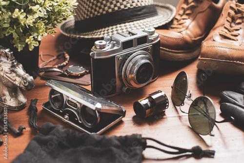 Fototapeta  Travel preparation concept obraz