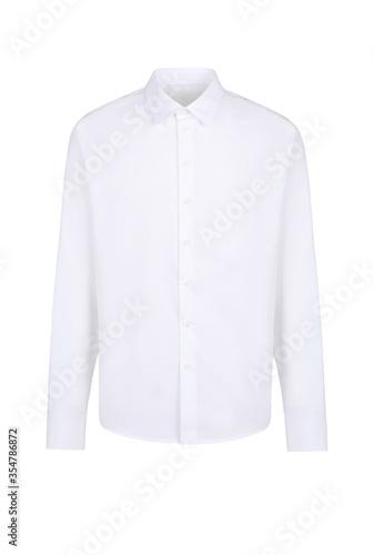 Obraz na plátne White blank classic shirt
