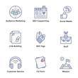 Market and Economy Flat Icons Pack