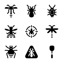 Pest And Insect Control Icon P...