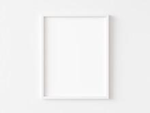White Vertical Frame On White ...