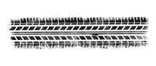 Vector Illustration Tire Track...