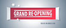 Grand Opening Or Re Opening Ve...