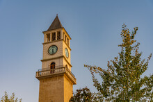 Clock Tower In Tirana, Albania
