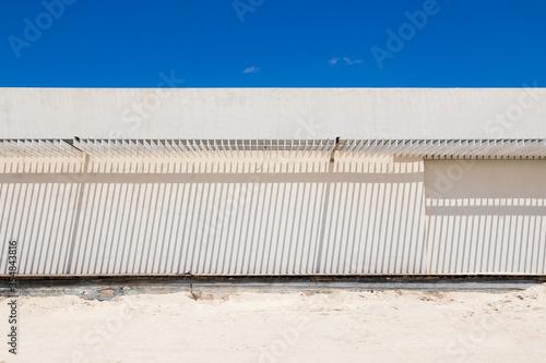 Fotografia, Obraz Struttura sulla sabbia con luci ed ombre