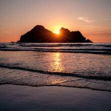 Holywell Bay Sunset Cornwall E...