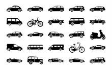 Urban Auto Glyph Icons