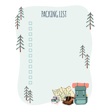 Packing List For Trip Or Trave...