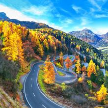 Stunning View Of Maloja Pass R...