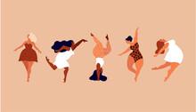 Happy Women. Body Positive Ver...