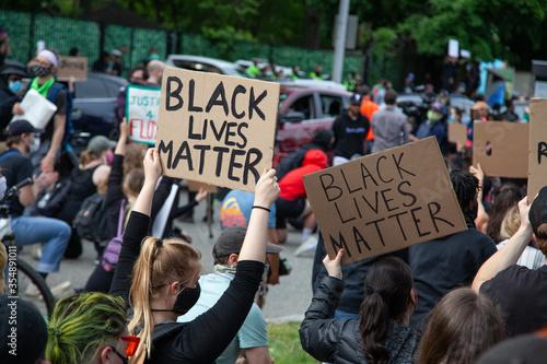 Fototapety, obrazy: Black Lives Matter