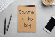 Notebook With Text Education I...