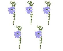 Purple Trumpet Flower Vines On...