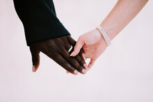 Two People (one Black And One ...